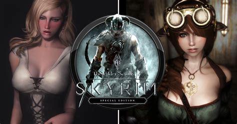skyrim hot armor for female mod female armor skyrim nexus scrolls picturesque www