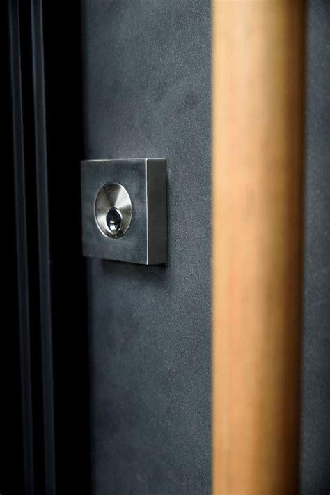 custom modern pivot door installation in atlanta
