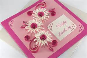 items similar to happy birthday card handmade quilling greeting card quilling