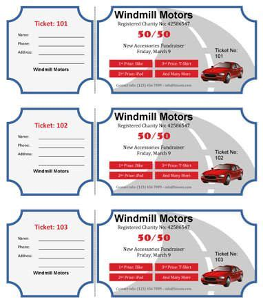 15 Free Raffle Ticket Templates Follow These Steps To Create Your Own Diy Printable Custom Create Your Own Tickets Template Free