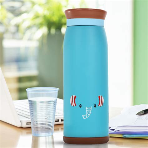 Colourful Thermos Insulated Mik Water Bottle 500ml Ther colourful thermos insulated mik water bottle 500ml blue jakartanotebook
