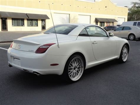 how does cars work 2006 lexus sc navigation system 2006 lexus sc430 convertible nav florida car good shape clear title runs great for sale photos