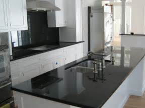 absolute black granite installed design photos and reviews granix inc