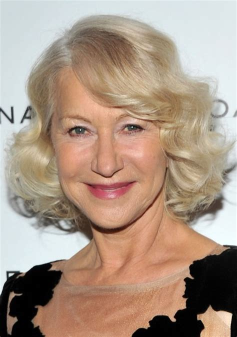 platinum hair older woman chic platinum curly bob hairstyle for mature ladies