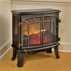 Electric Stove Fireplace Duraflame 950 Black Electric Fireplace Stove With Remote