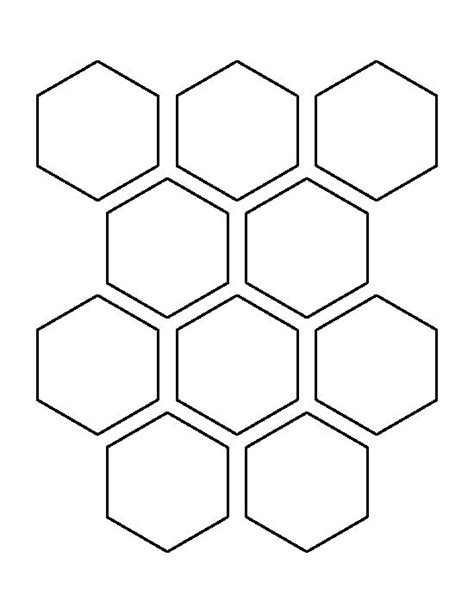 hexagon templates for quilting free pin by christine jones on stencils to make patterns 2