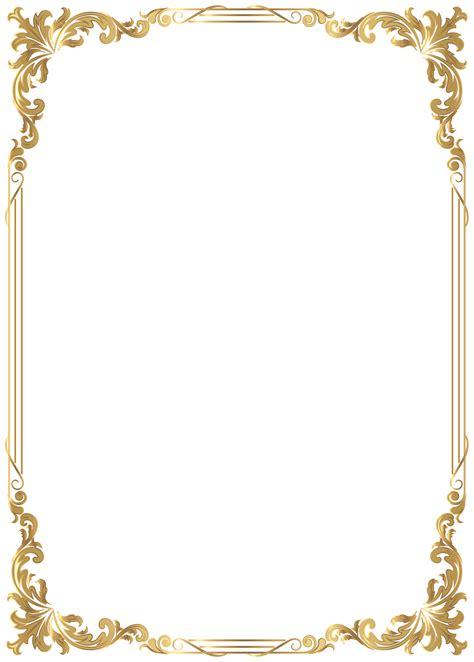 border frame decoration transparent image gallery