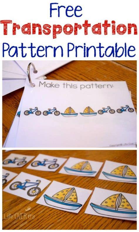 pattern maker opportunities 18 best transportation travel lesson plans images on