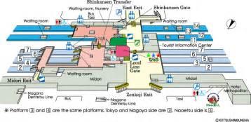 station map jr east guide maps for major stations nagano station