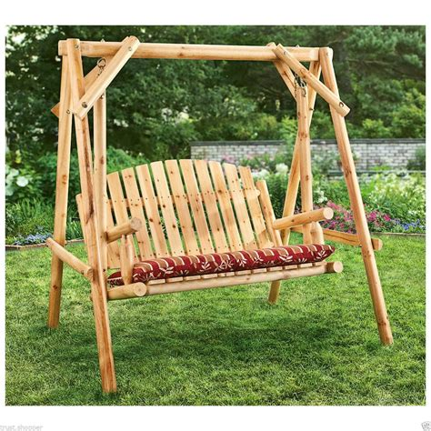 outdoor wooden swing outdoor patio swings newsonair org