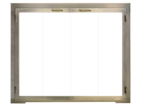 legend glass zero clearance fireplace door the fireplace