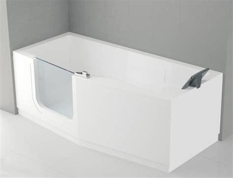 badewannen abverkauf prisma athene badewanne mit einstieg links 160x70 80cm