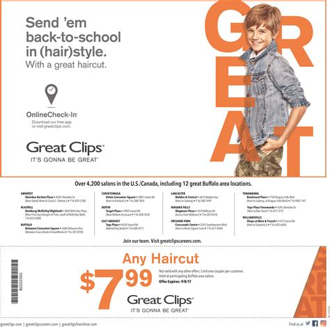 haircut coupons troy ohio great great clips lancaster ny