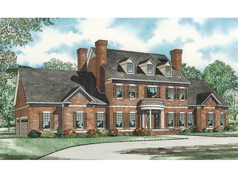 colonial luxury house plans saltsburg luxury georgian home plan 055s 0081 house