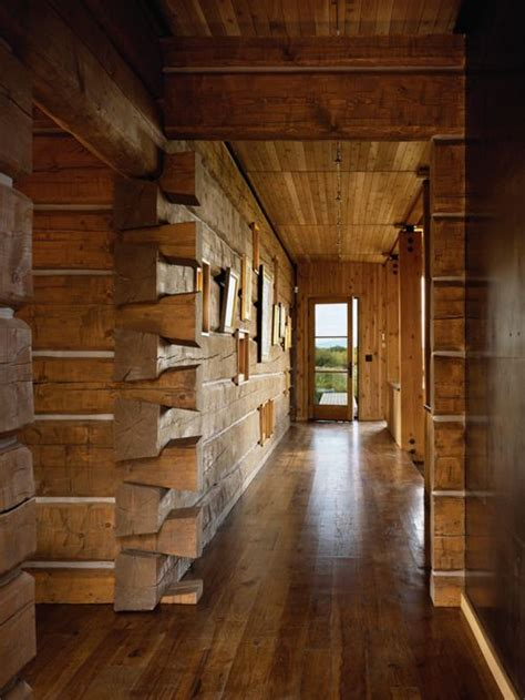 rustic log cabin interior houzz
