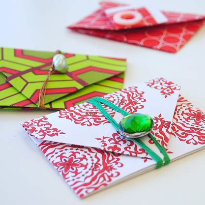 how to make a gift card envelope joli s gift card envelope project wooster prince