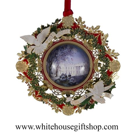 2013 white house historical christmas ornament american