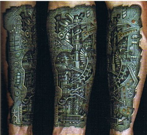 biomechanical tattoo forum biomechanical tattoo picures images