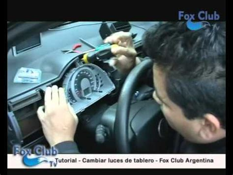 como cambiar el fusible de un auto tutorial para cambiar las luces del tablero youtube