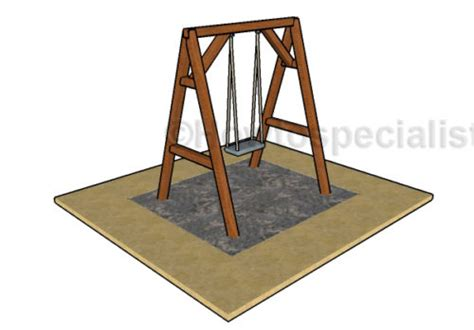 a frame swing plans free a frame swing plans howtospecialist how to build step