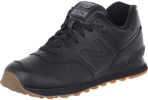 new balance nb574 shoes black