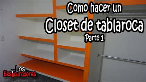 como hacer un mueble de parte 1 reutiliza como hacer como hacer closet ropero de tablaroca parte 1 planeacion