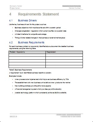feasibility study template technical writing tips
