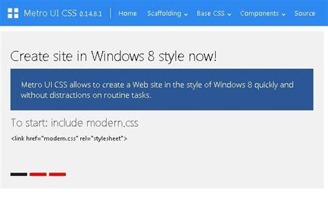 tutorial metro ui css jquery windows 8 plugins jquery script