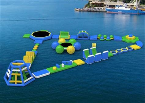Backyard Inflatable Water Park New Design Giant Beach Inflatable Water Parks Lake