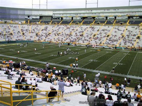 Lambeau Field Section 126 Rateyourseats Com