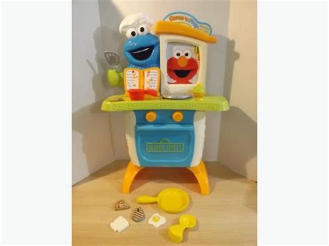 Sesame Kitchen by Sesame Play Kitchen Real Sounds Elmo Cookie