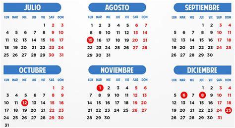 calendario de pago mef julio a diciembre 2016 image gallery el calendario 2016