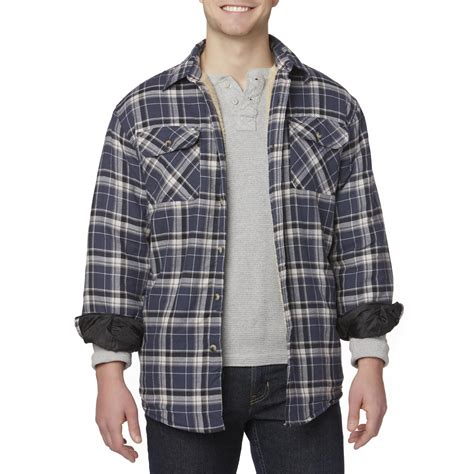 Plaid Shirt Jacket wrangler s shirt jacket plaid