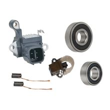 alternator kit regulator brushes bearingd    acura rl tl   mdx