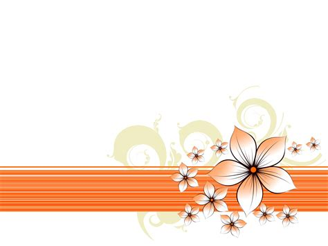 floral borders powerpoint templates floral borders