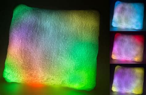 light up pillow light up pillow the psychedelic moonlight pillow
