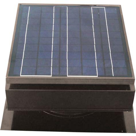roof mount attic fan remington solar sf25 gr solar attic fan roof mount 25 watt