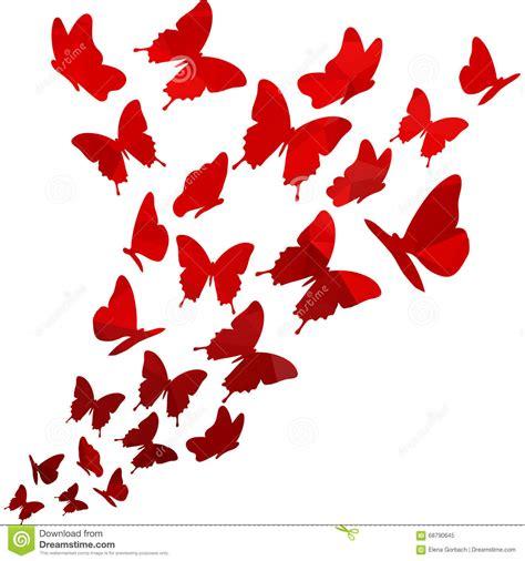 flying butterfly card template light triangle polygon butterflies swirl flying