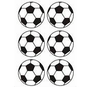 Vinyl Football Sticker  &163435 Stickers Direct