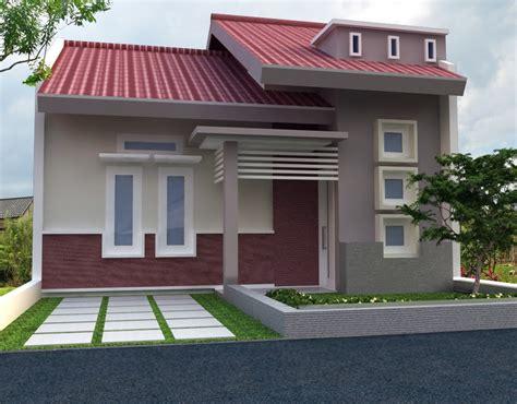 gambar desain rumah minimalis dengan model teras unik dipinggir jalan desain rumah perumahan