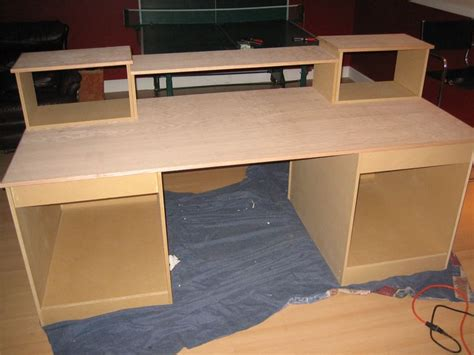 computer desk wood studio designs diy studio recording desk recording studio ideas