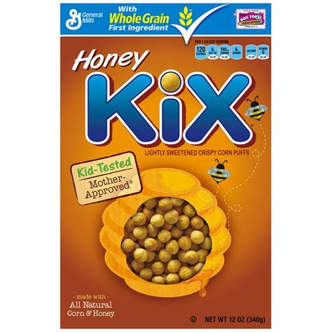 whole grain kix kix honey cereal 12 oz from safeway instacart