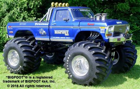 history of bigfoot monster history of bigfoot 171 bigfoot 4 215 4 inc monster truck