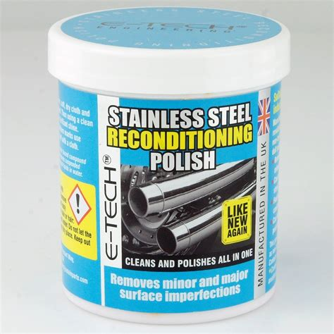 stainless steel wax stainless steel polish car builder solutions kit car