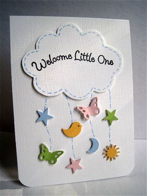 Handmade Baby Shower Card - 17 best ideas about baby shower cards on baby