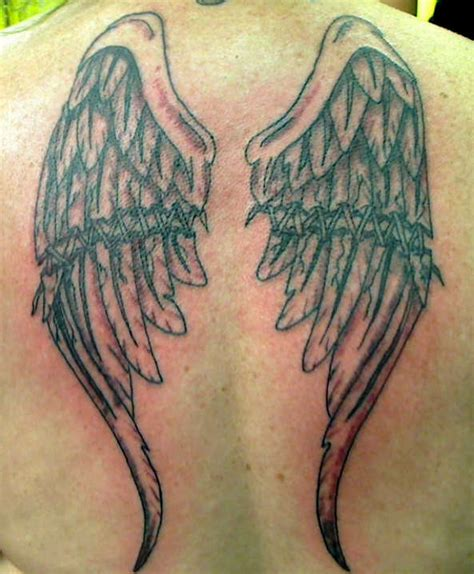broken wings tattoo broken wings