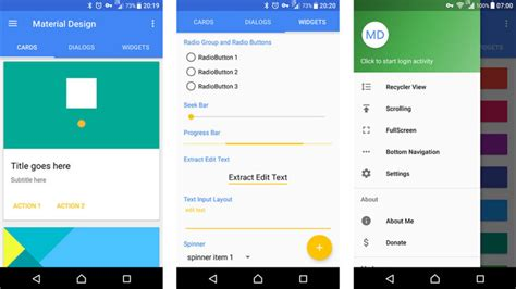 material design google demo 15 best material design apps for android android authority