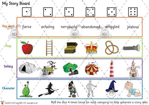 story template ks1 s pet my story boards premium printable