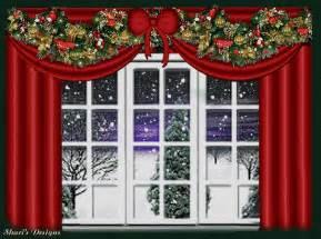 christmas window graphic animated gif graphics christmas