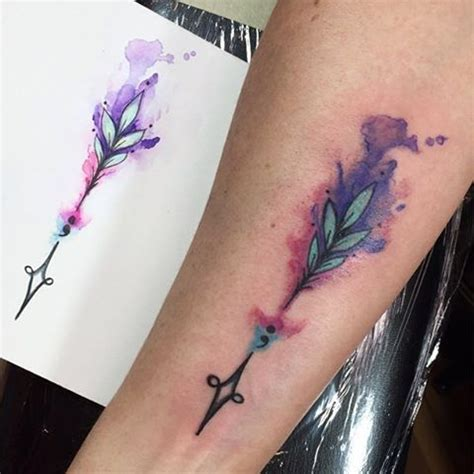 watercolor arrow tattoo designs 17 best ideas about watercolor arrow on